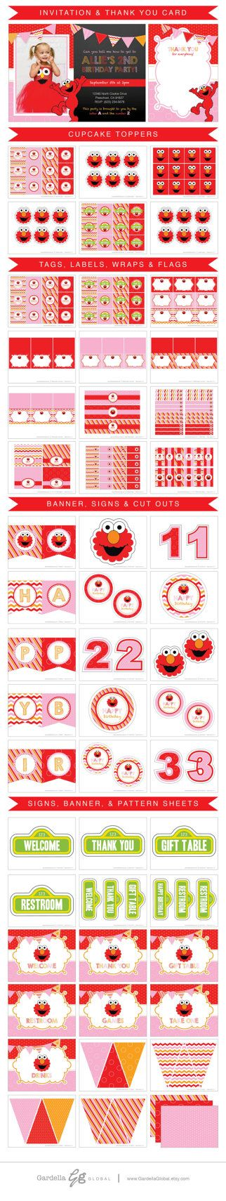 61 best elmo images on pinterest birthdays elmo party and parties elmo invitation girl elmo invite pink elmo by gardellaglobal filmwisefo Choice Image