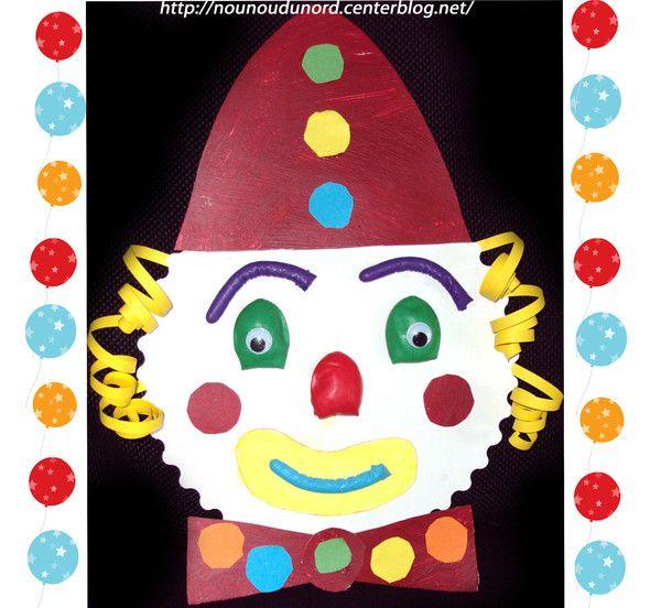 Pinterest the world s catalog of ideas - Tete de clown a imprimer ...