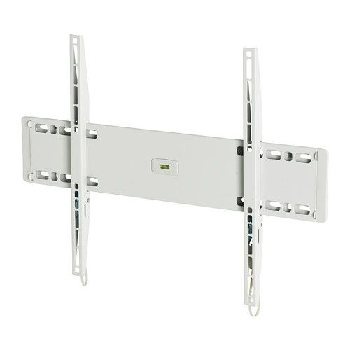 UPPLEVA Wall bracket for TV, fixed IKEA Built-in level make it easy to hang the TV perfectly straight.