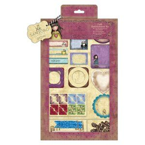 Gorjuss Craft Embellishment Kit (81pcs) - Santoro