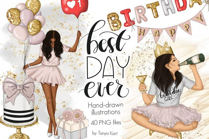 Download Best Day Ever Clipart Graphic Design 214635 Illustrations Design Bundles How To Draw Hands Clip Art Blog Graphics