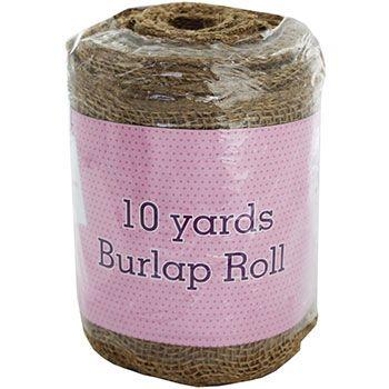Burlap Roll - 10 Yards
