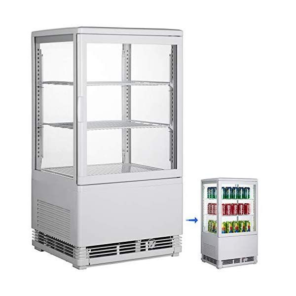 Vbenlem 2 Cu Ft 58l Commercial Beverage Refrigerator Glass Door