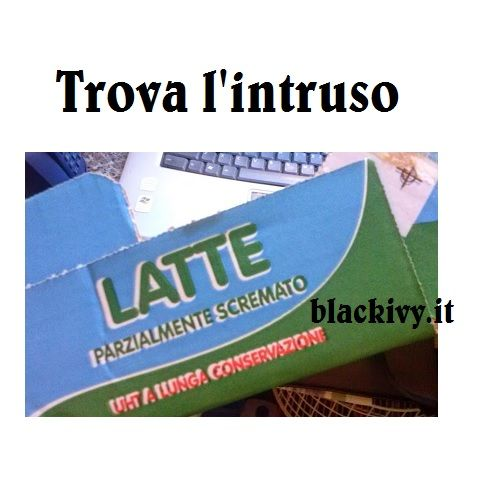 Trova L'intruso ... | Blackivy