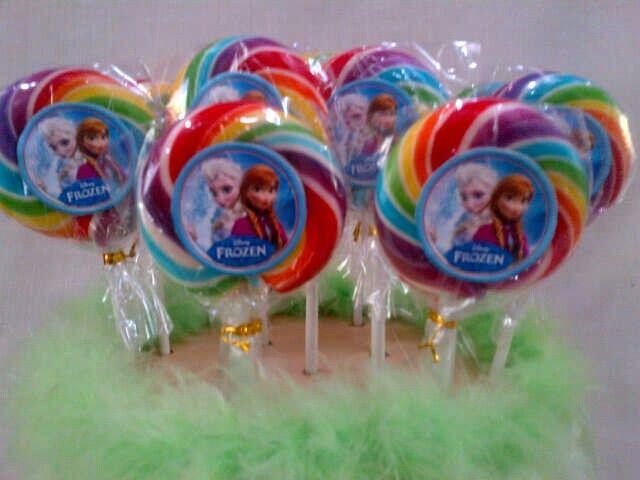 Frozen lollipop