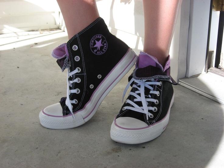 converse shoes purple ukulele straps paracord
