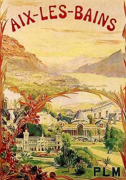 Aix-Le-Bains, PLM  Département de la Savoie,Région Rhône-Alpes