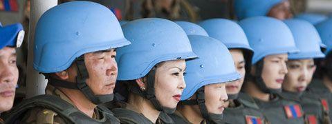 UN Peacekeeping  https://www.un.org/en/peacekeeping/