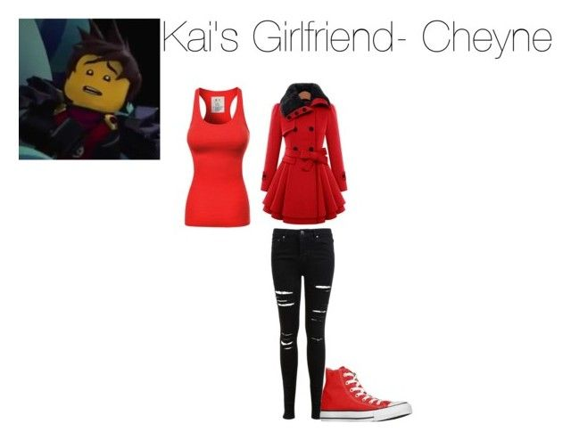"""Lego Ninjago"" by kitten-hitachiin ❤ liked on Polyvore featuring Miss Selfridge and Converse"