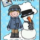 """Using Denise Fleming's book The First Day of Winter kiddos will enjoy"""" Using ordinal numbers Writing a paragraph about winter FREEBIE"""