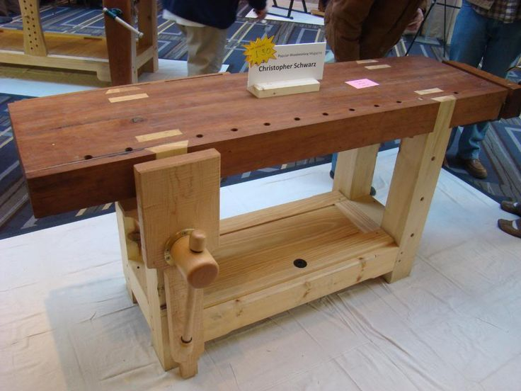 build a workbench yourself plans   That's Not A Petite Workbench, This Is A Petite Workbench ...