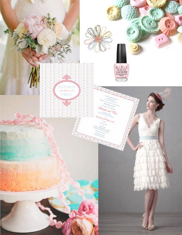 Pretty Pastels {and polka dots}