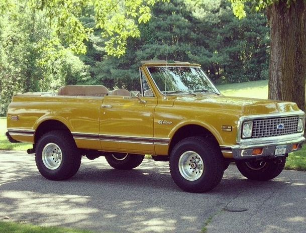 1972 K5 Chevy Blazer - LOVE IT!