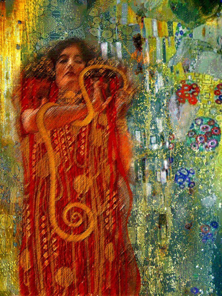 Klimt by Béatrice Duka