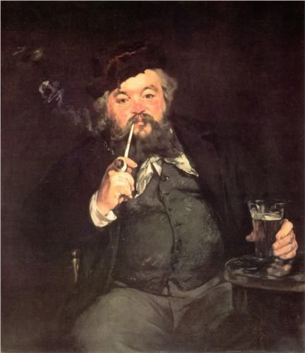 A Good Glass of Beer - Edouard Manet