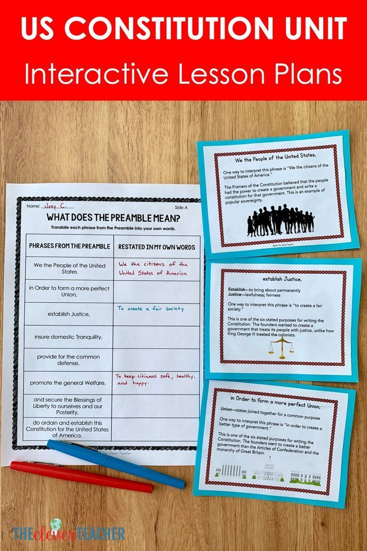 Us Constitution Worksheets Graphic Organizers Printable Digital Video Video In 2021 Constitution Activities Constitution Day Graphic Organizers