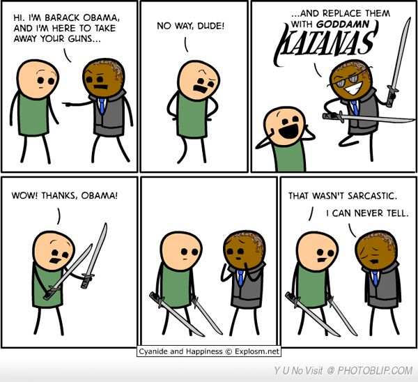 Cyanide And Happiness Understand.