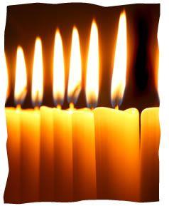 erev rosh hashanah candle lighting