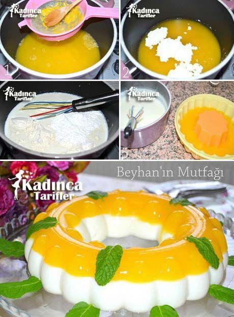 Portakallı Muhallebi Tarifi