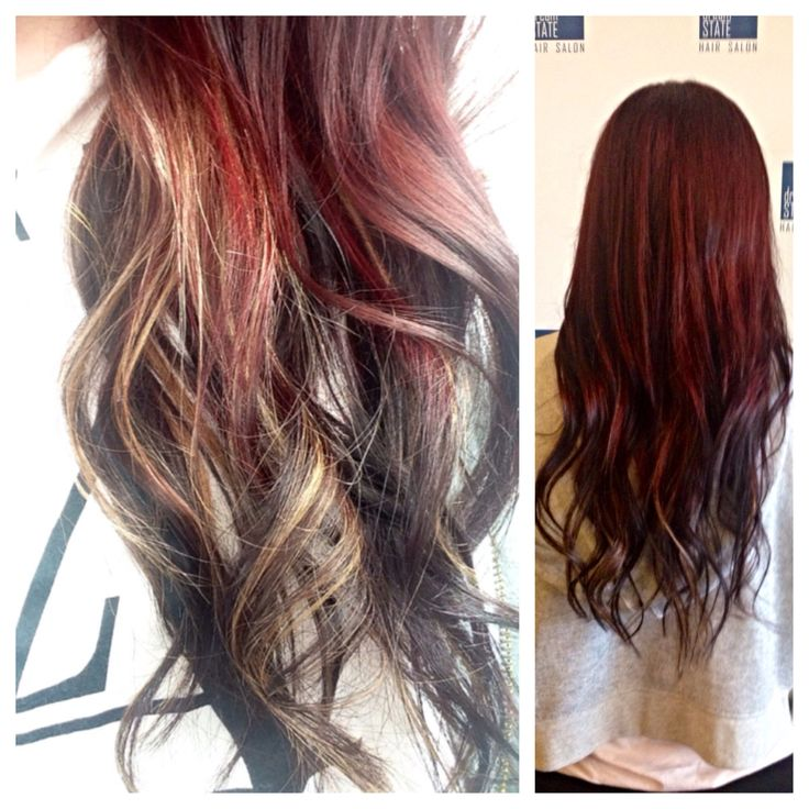 Multi colored Ombré by Ave.