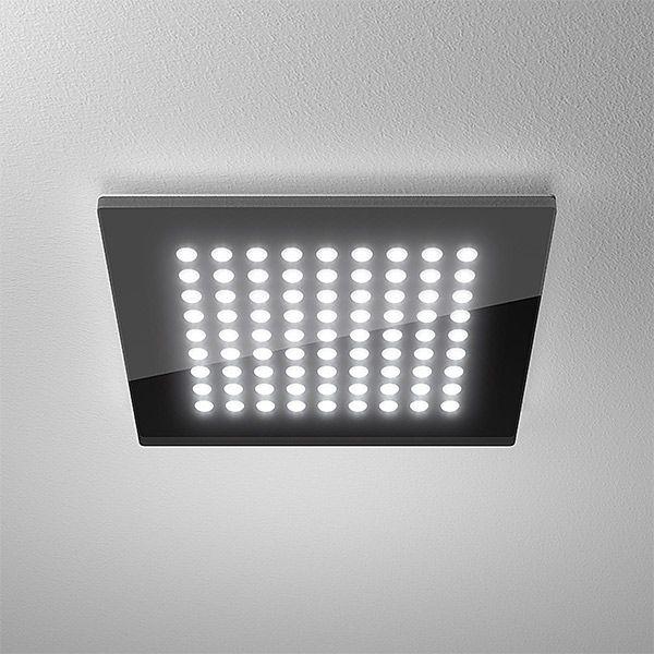 Trend Domino Flat Led Deckenleuchte schwarz von LTS Licht