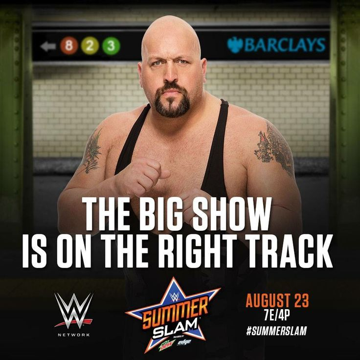 WWE SummerSlam 2015: The Big Show is on the right track