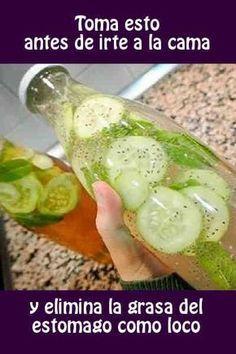bebida que combina el perejil y pepino
