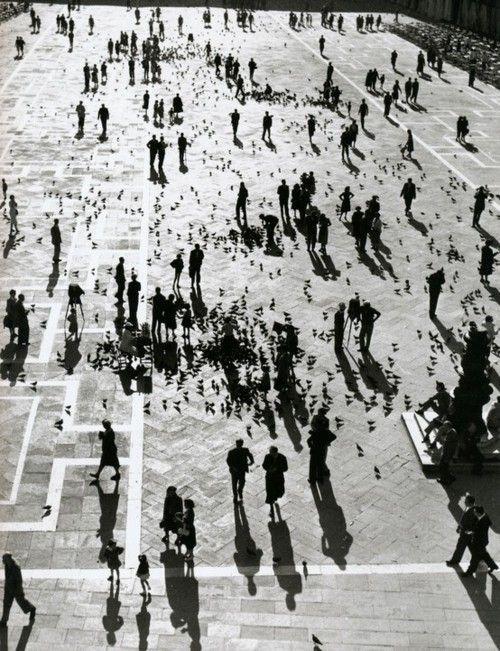 Piazza San Marco, Venice, 1929 Photographer: Herbert List