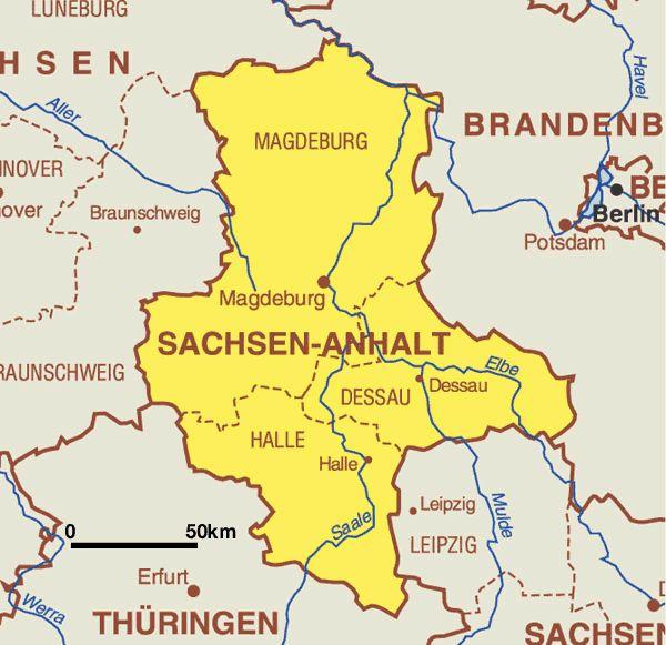 Saxony-Anhalt (Sachsen-Anhalt) Region, Germany