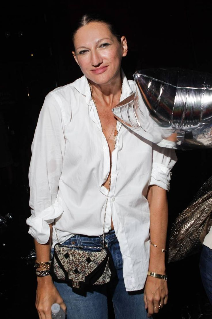 now that's a button down~ Jenna Lyons, creative director of J. Crew