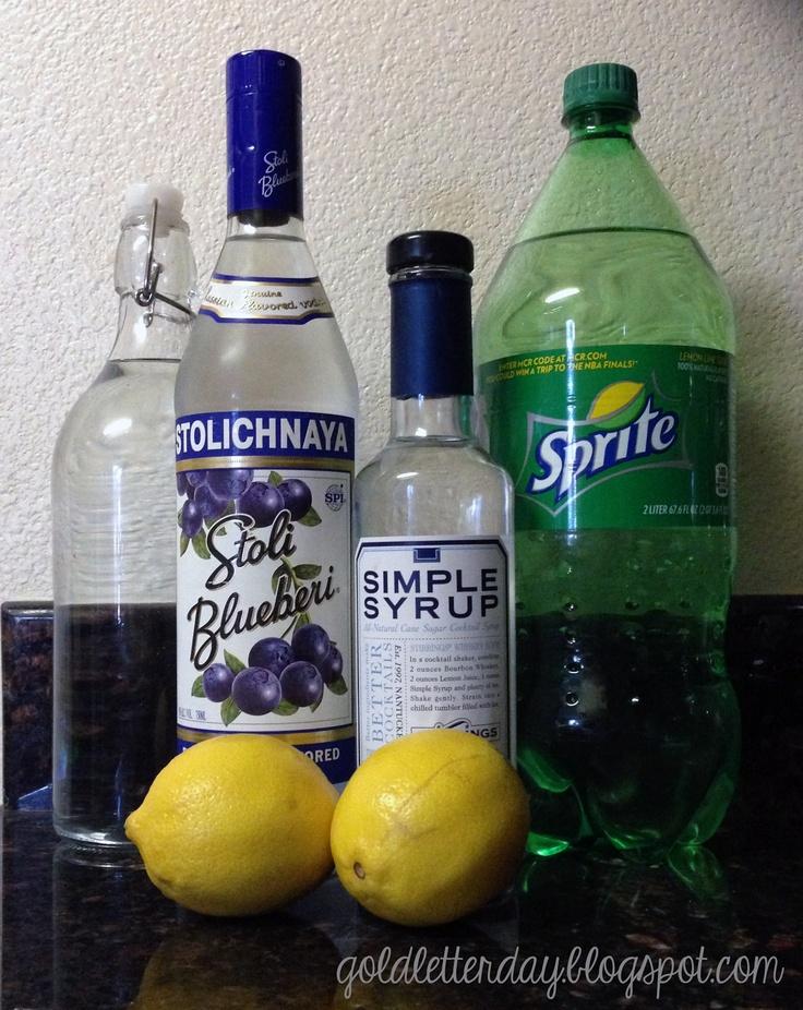 Gold Letter Day: Thirsty Thursday: Blueberry Hard Lemonade | Drinks ...