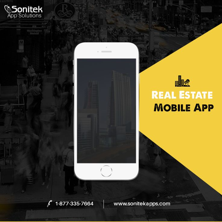 Establish a Digital Connection with Buyers! Ready-Made App Solutions -http://www.sonitekapps.com/real-estate-mobile-app-toronto.php #RealEstate #mobileapps