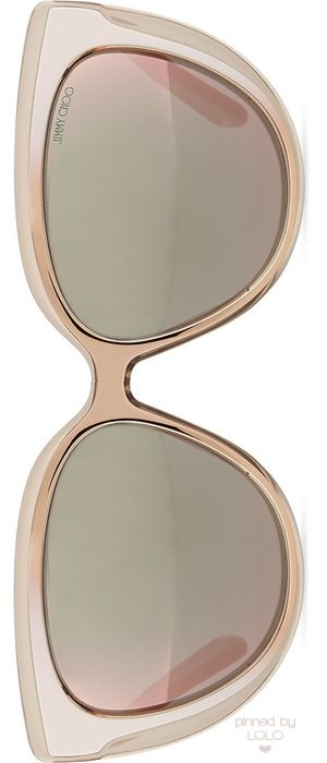 Jimmy Choo Cindy Cat-Eye Sunglasses | LOLO❤︎