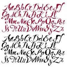 Resultado de imagen para letras cursivas elegantes abecedario