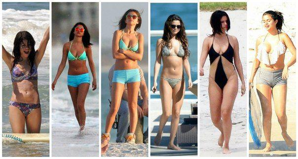 Selena Gomez bikini