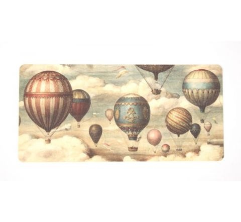 Vintage Hot Air Balloon print