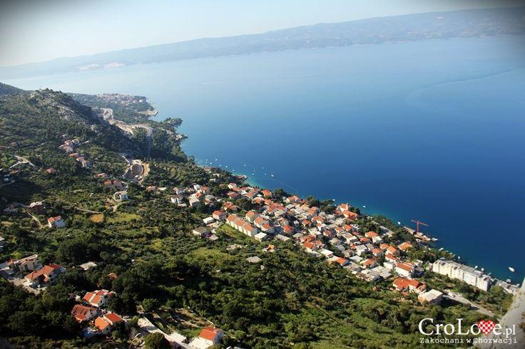 Panorama Omiša widziana z Twierdzy Starigrad (Fortica) || http://crolove.pl/twierdza-starigrad-fortica-omisu/ || Omis #Chorwacja #Croatia #Hrvatska