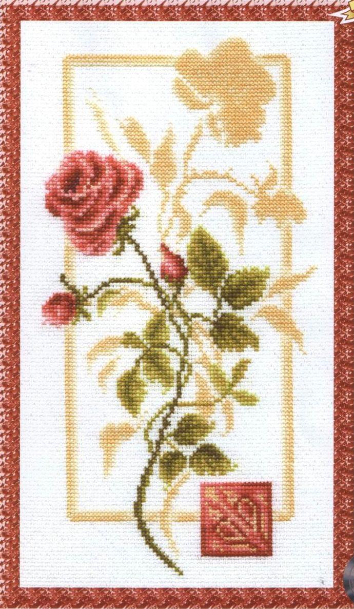 кармен схема крестом вышивка
