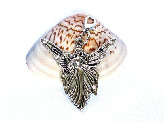 Kettenanhänger Elfe / Engel Anhänger silber von JewelsbyLonasART