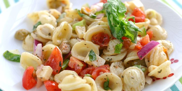 Recipe Sunday: Orecchiette Salad with Fresh Basil and Capers