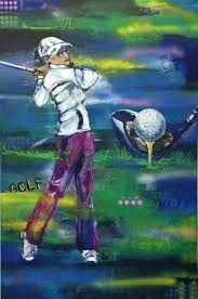 Image result for ladies golf art