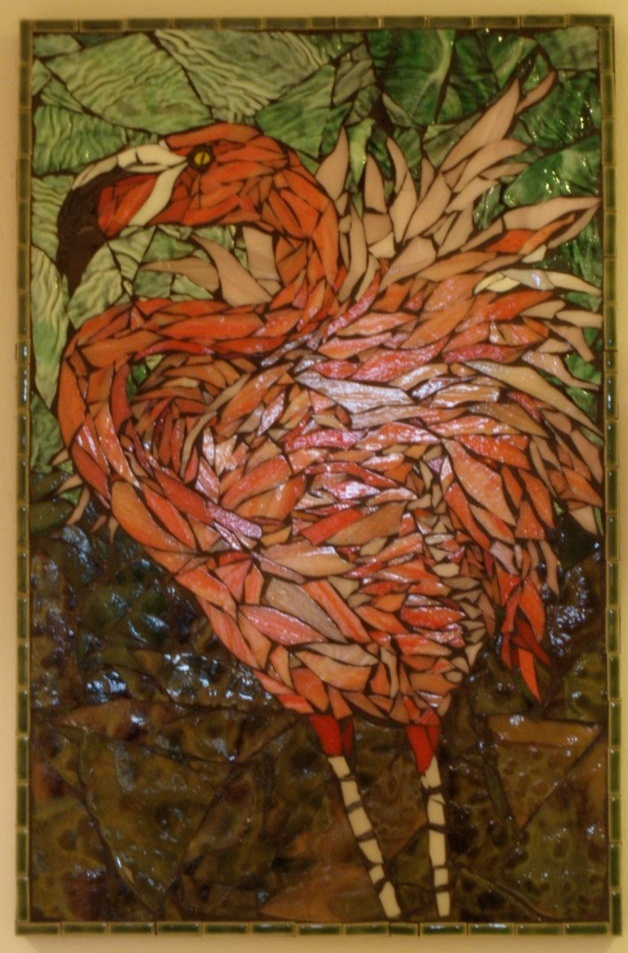 17 Best Images About Flamingo Mosaics Stained Glass