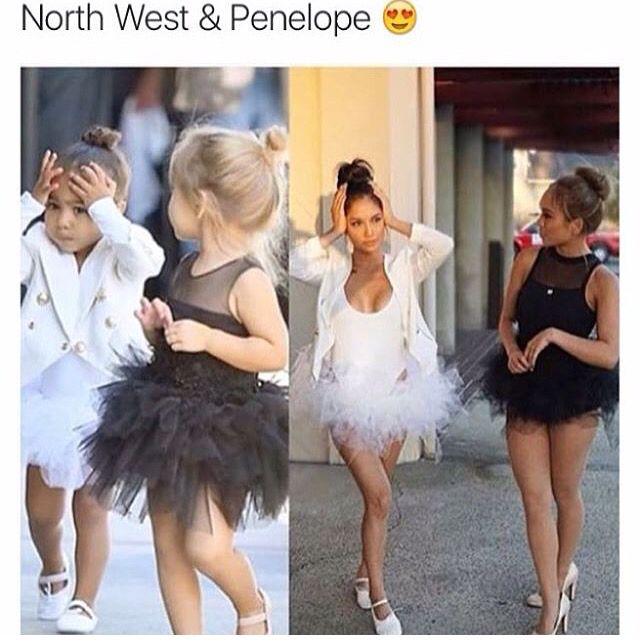 North West & Penelope Halloween Costume