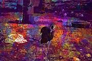 "New artwork for sale! - "" Bird Hair Poof Black Portrait  by PixBreak Art "" - http://ift.tt/2vKruxX"