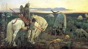 The Knight at the Crossroads, 1882  by Viktor Vasnetsov