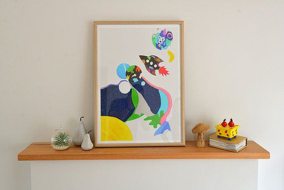 To the moon and back by BrunswickKids on Etsy