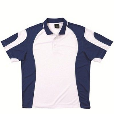 Trendy Kids Spliced Polo Min 25 - 100% Polyester, Sleeve Set In, Side Splits with Drop Tail Back, Sweat Absorbent, Fast Drying, Features Detailed Contrast Colour Curved Panelling and Top Stitching, Two Press Button Placket, Pique Knit Fabric. http://www.promosxchange.com.au/trendy-kids-spliced-polo/p-8583.html