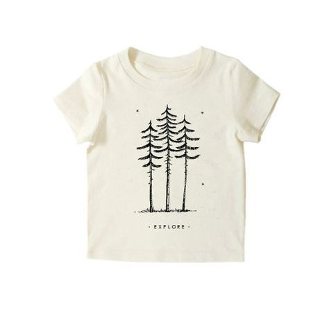 Hipster Kids Clothes Nature Explore Shirt  Organic by UrbanEarthCo