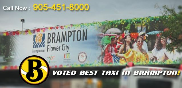 Voted Best Taxi service in Brampton