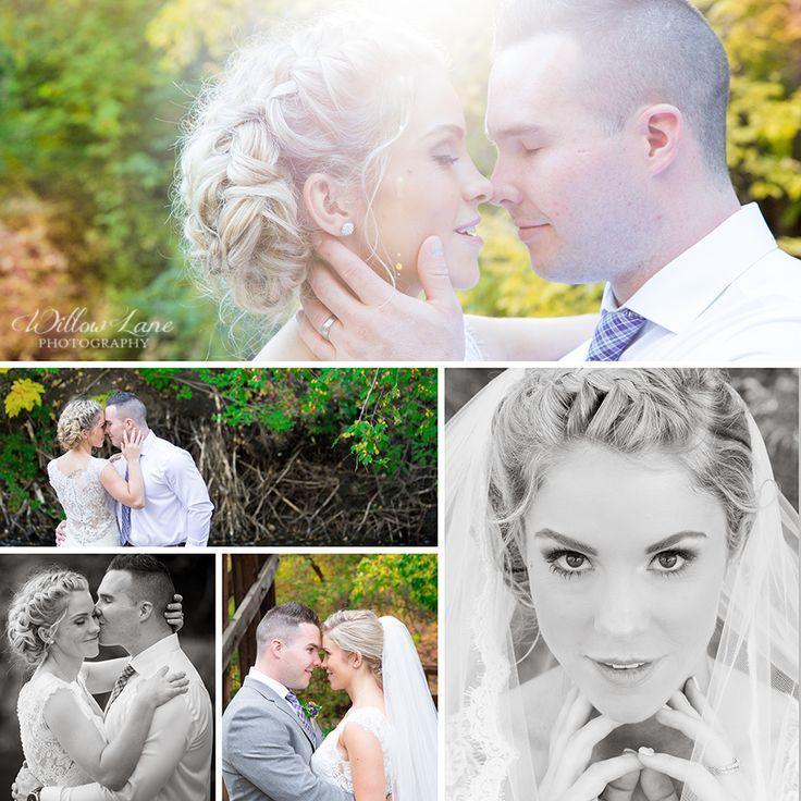 Fall wedding photos Willow Lane Photography - Barrie Wedding Photographer www.willowlanephotography.ca